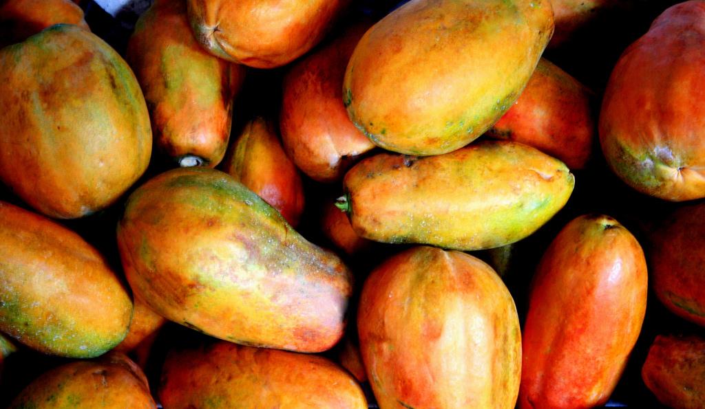 Mexican red papaya