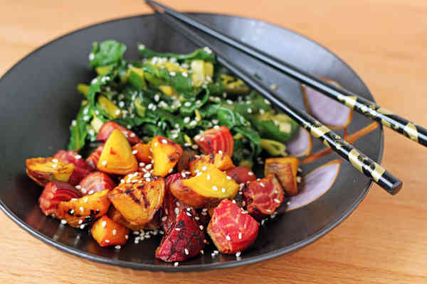 Sesame-Roasted-Beets-and-Greens
