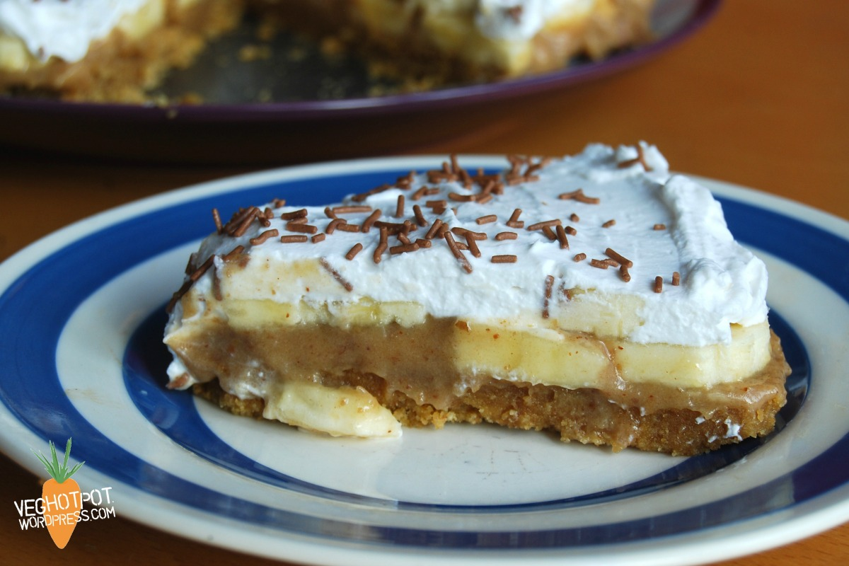 Banoffee Pie [Vegan, Gluten-Free]