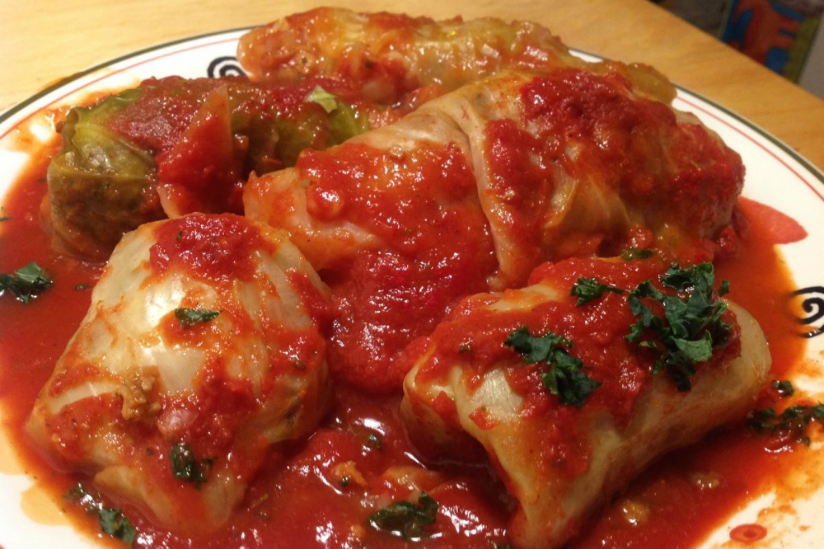 Vegan Holishkes (Stuffed Cabbage) [Vegan, Gluten-Free]
