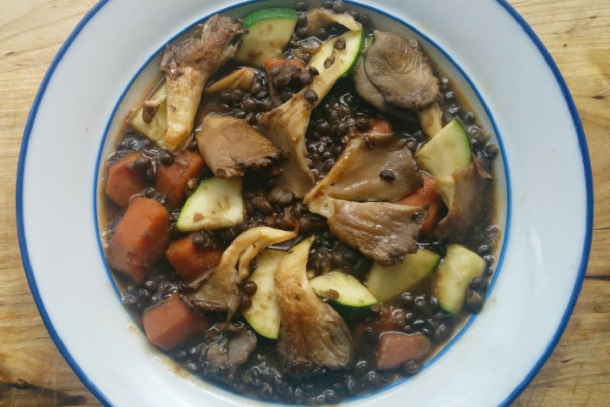 Hearty Black Beluga Lentil Stew [Vegan, Gluten-Free]