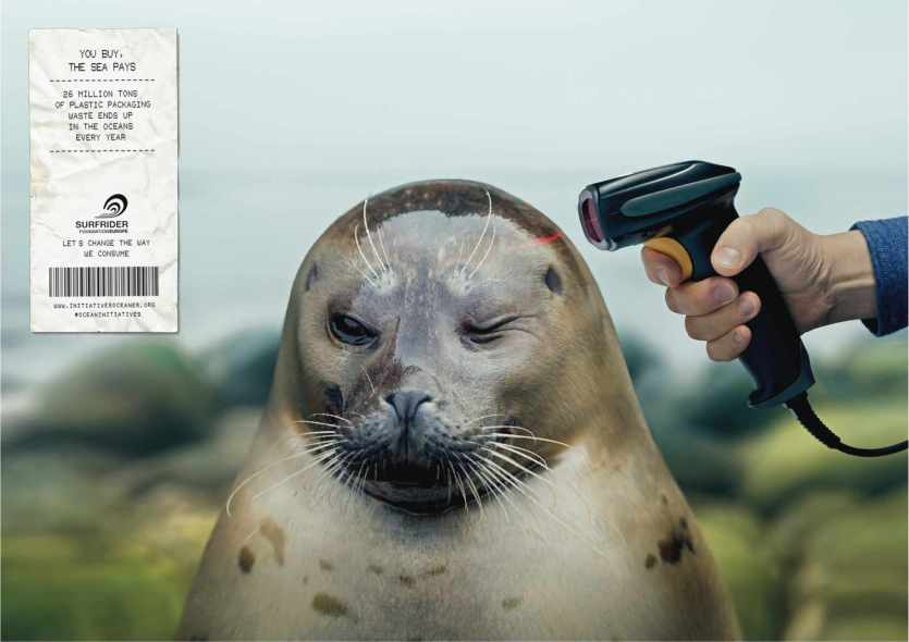 Powerful Ads Featuring Marine Animals at 'Gunpoint' Will Make You Reconsider Your Plastic Use