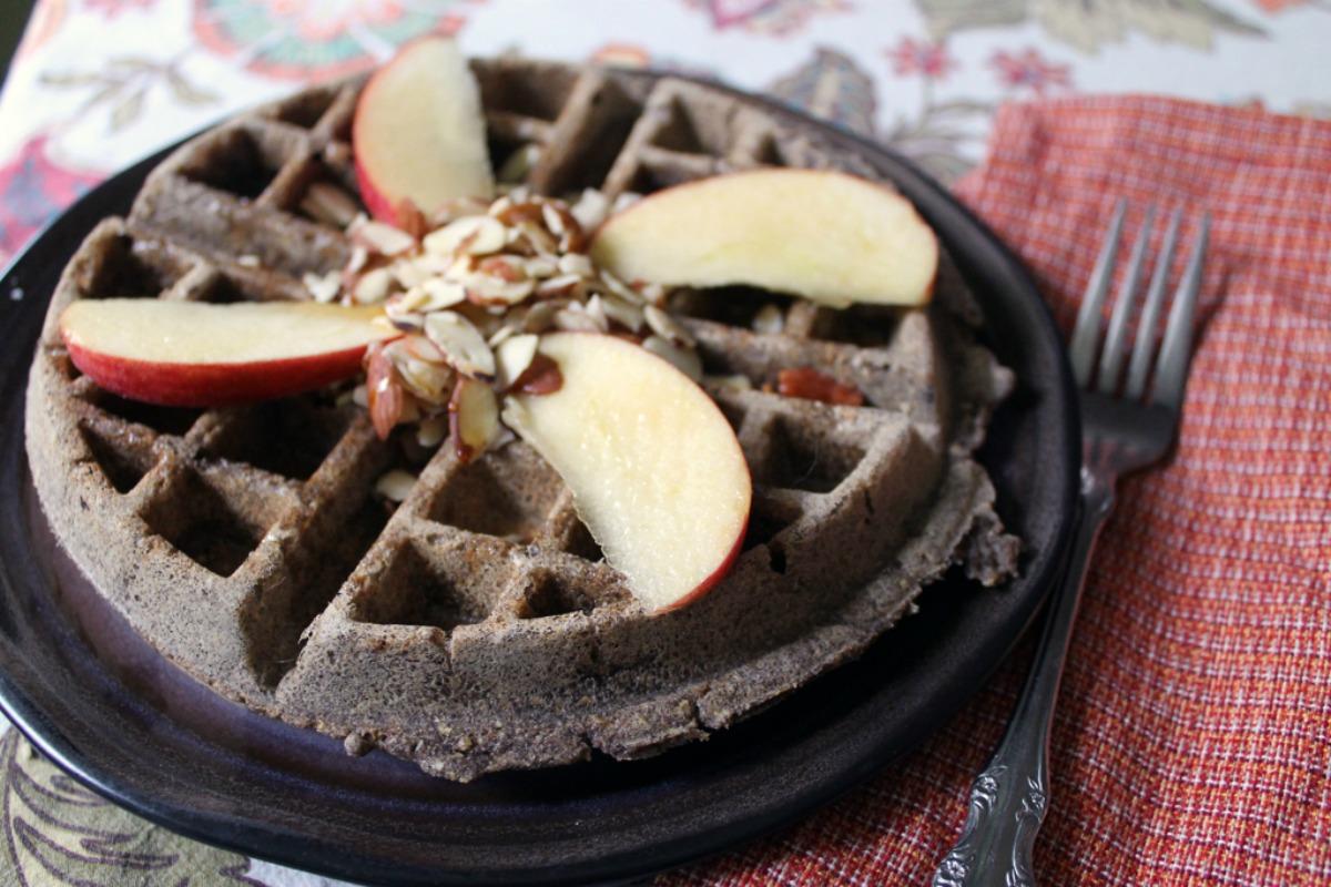 Multi-Grain Waffles [Vegan, Gluten-Free]