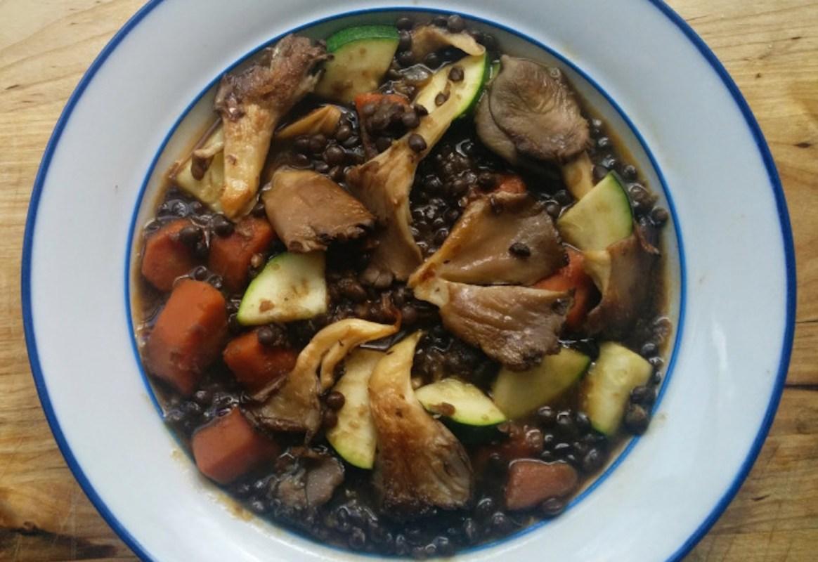 beluga lentil stew