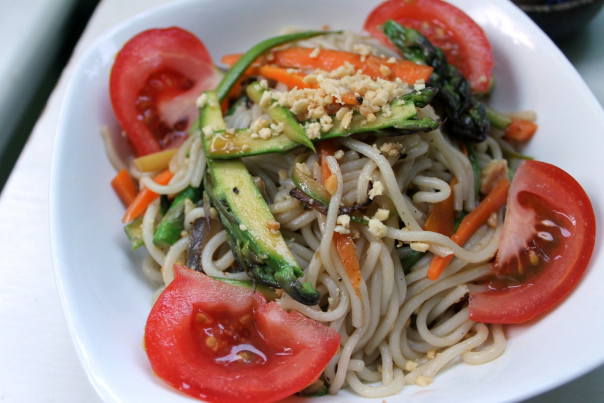 Peanut Bliss Rice Noodles [Vegan, Gluten-Free]