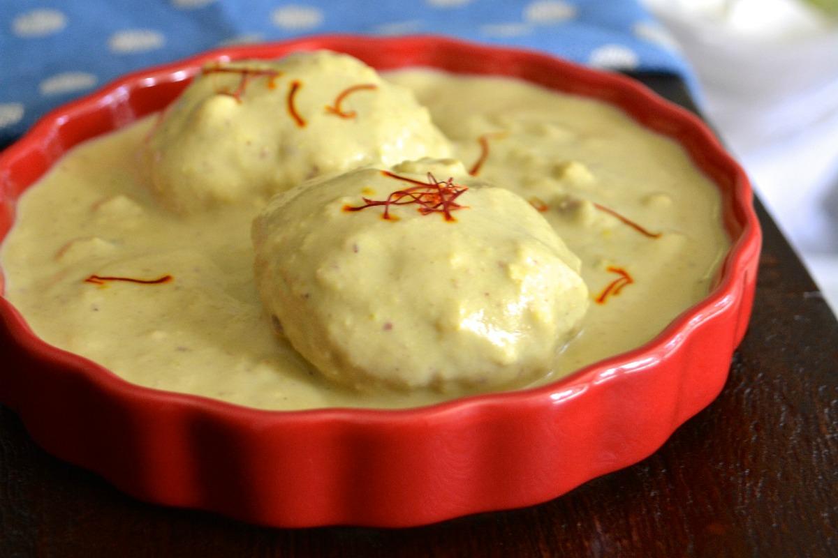 Vegan Sweet Potato Ras Malai [Vegan, Gluten-Free]