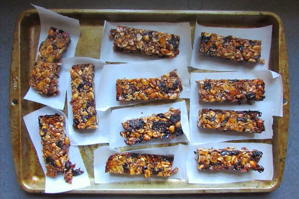 Cherry Nut Bars [Vegan, Gluten-Free]