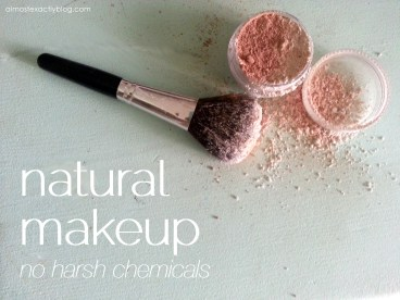 natural makeup (no harsh chemicals)