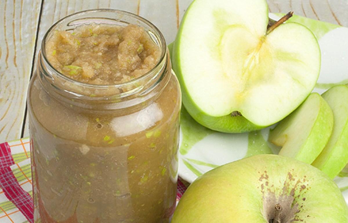 Instant Raw Applesauce [Vegan, Gluten-Free]