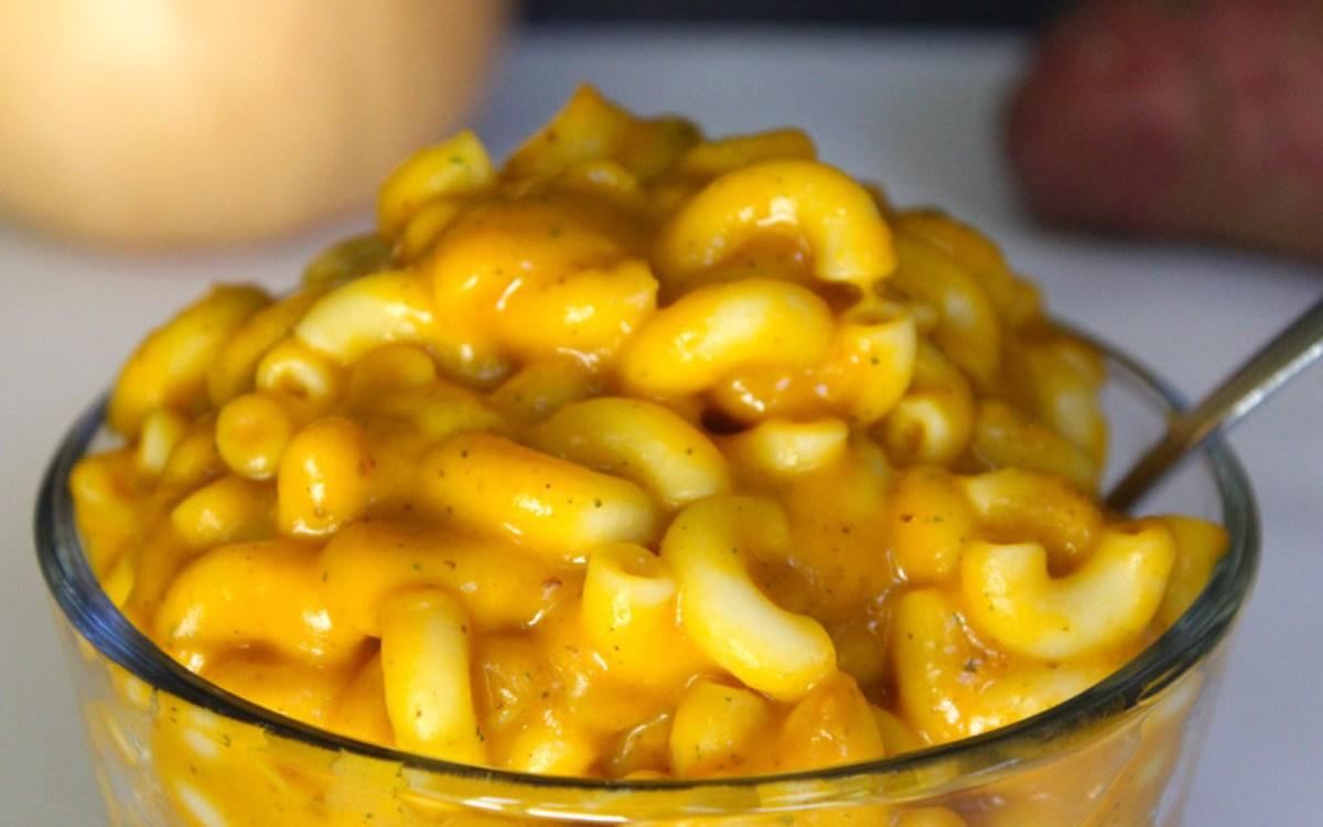 Easy Macaroni and Veggies