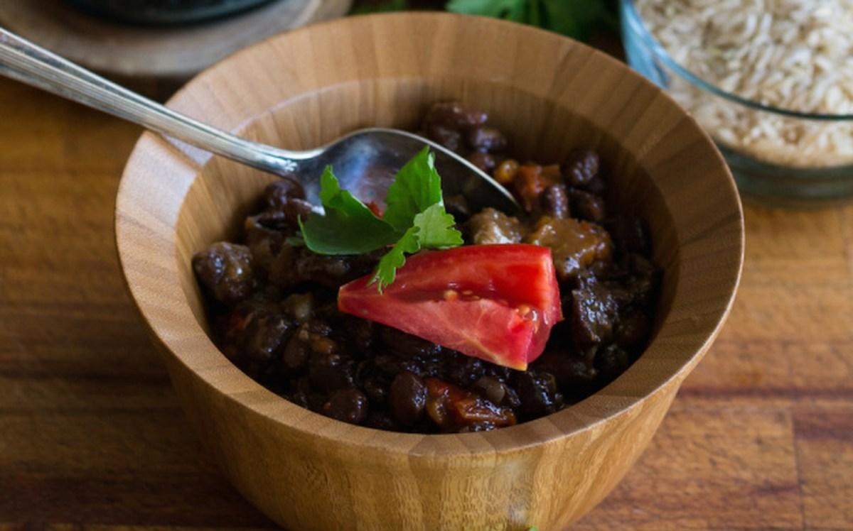 Pressure Cooker Feijoada (Brazilian Black Bean Stew) [Vegan, Gluten-Free]