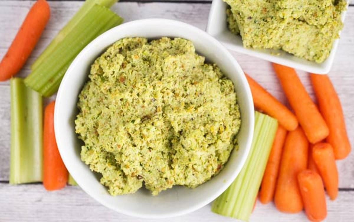 Edamame Pistachio Hummus [Vegan, Gluten-Free]