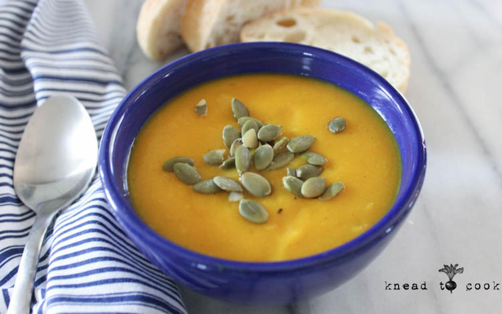 Creamy Kohlrabi Soup [Vegan, Gluten-Free]