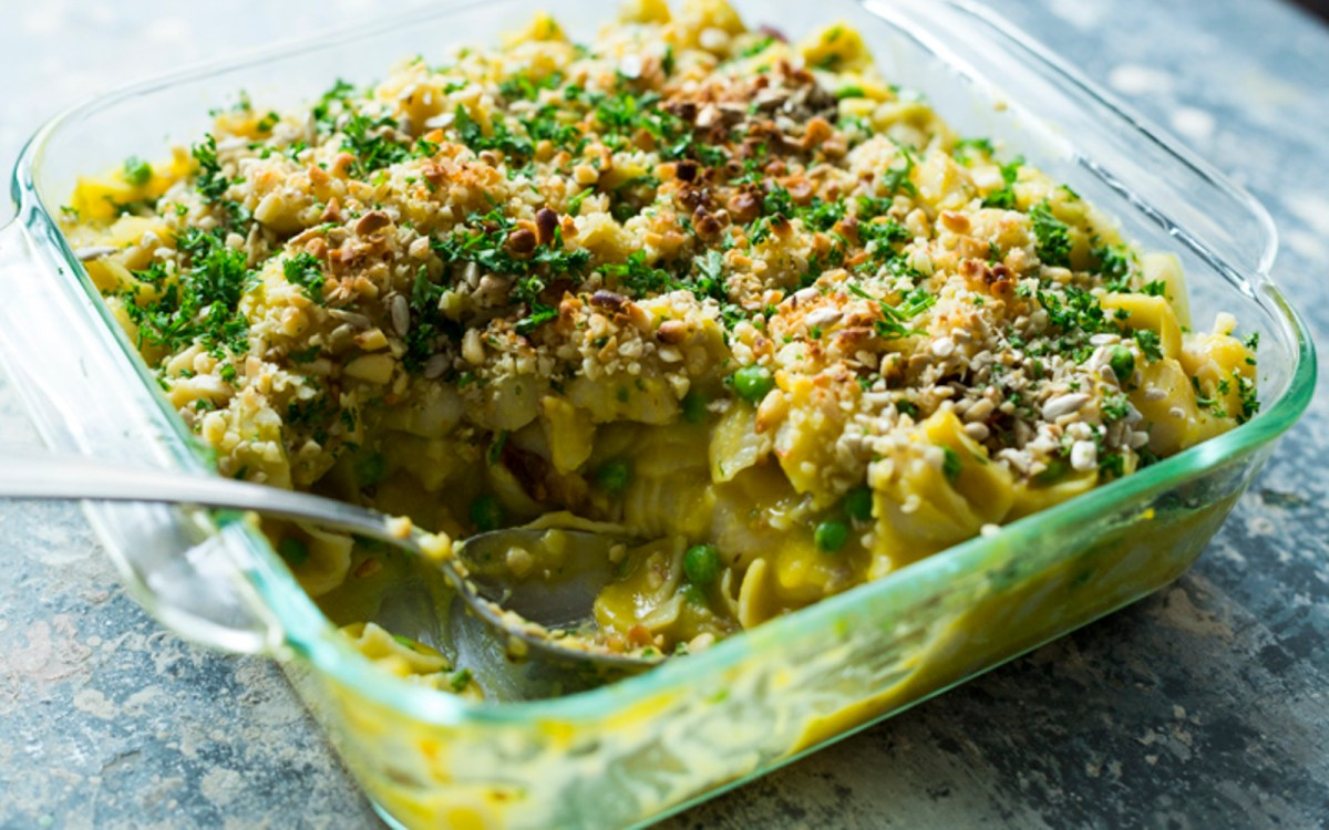 Smoky Butternut Squash Mac n Cheese