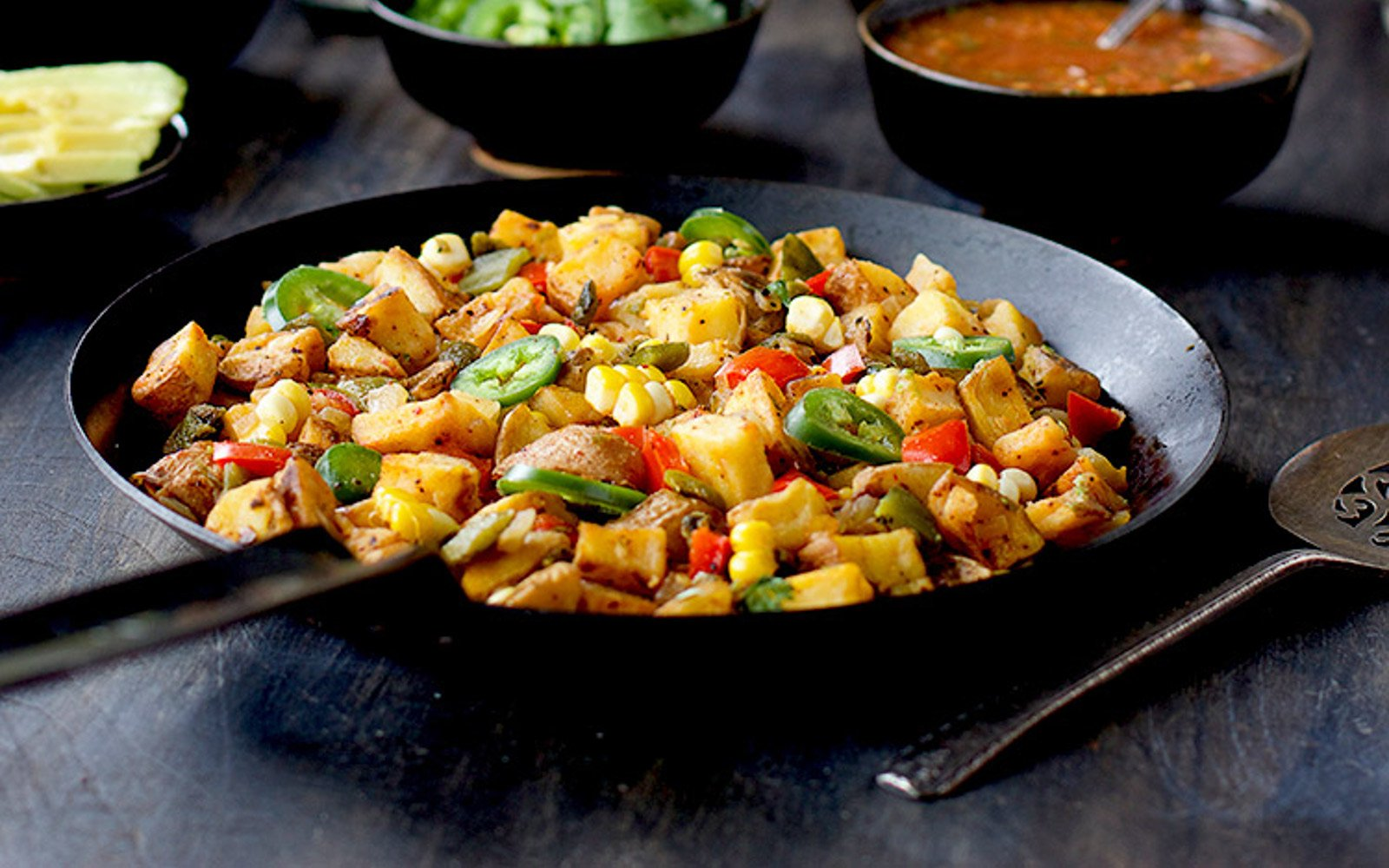 mexican potato hash