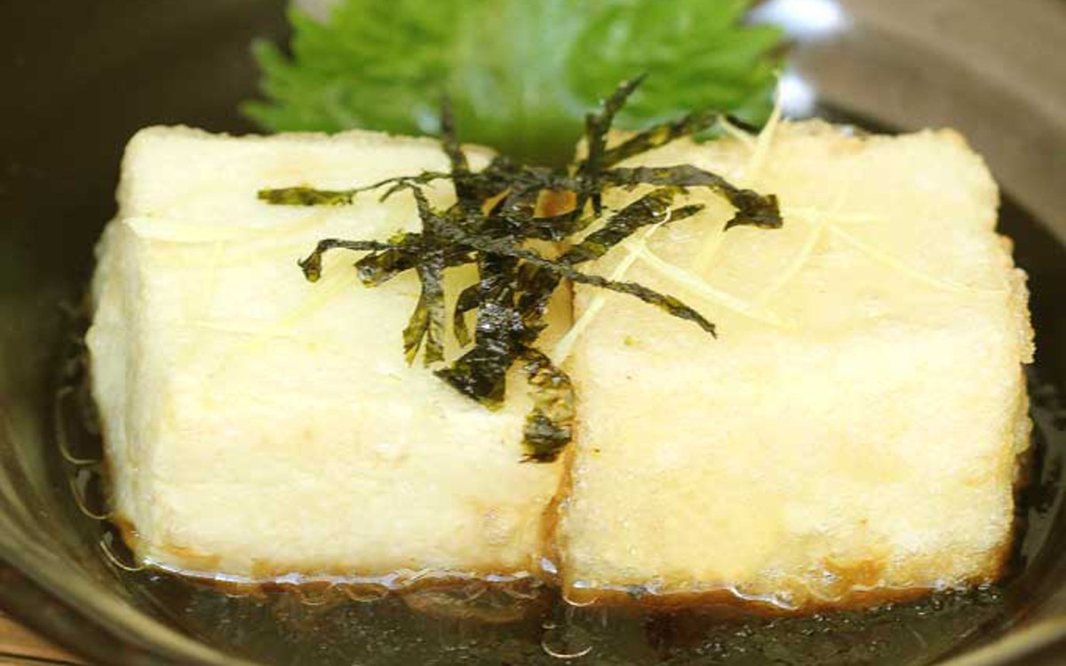 Agedash Tofu — Japanese Deep-Fried Tofu
