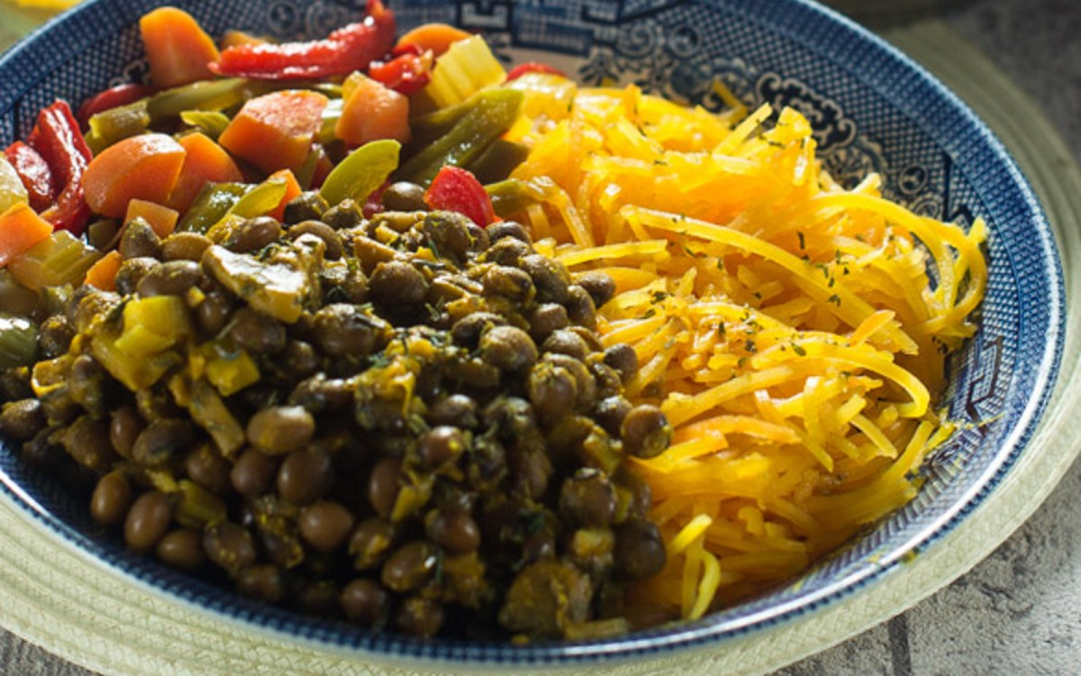 Caribbean Pigeon Pea Coconut Curry