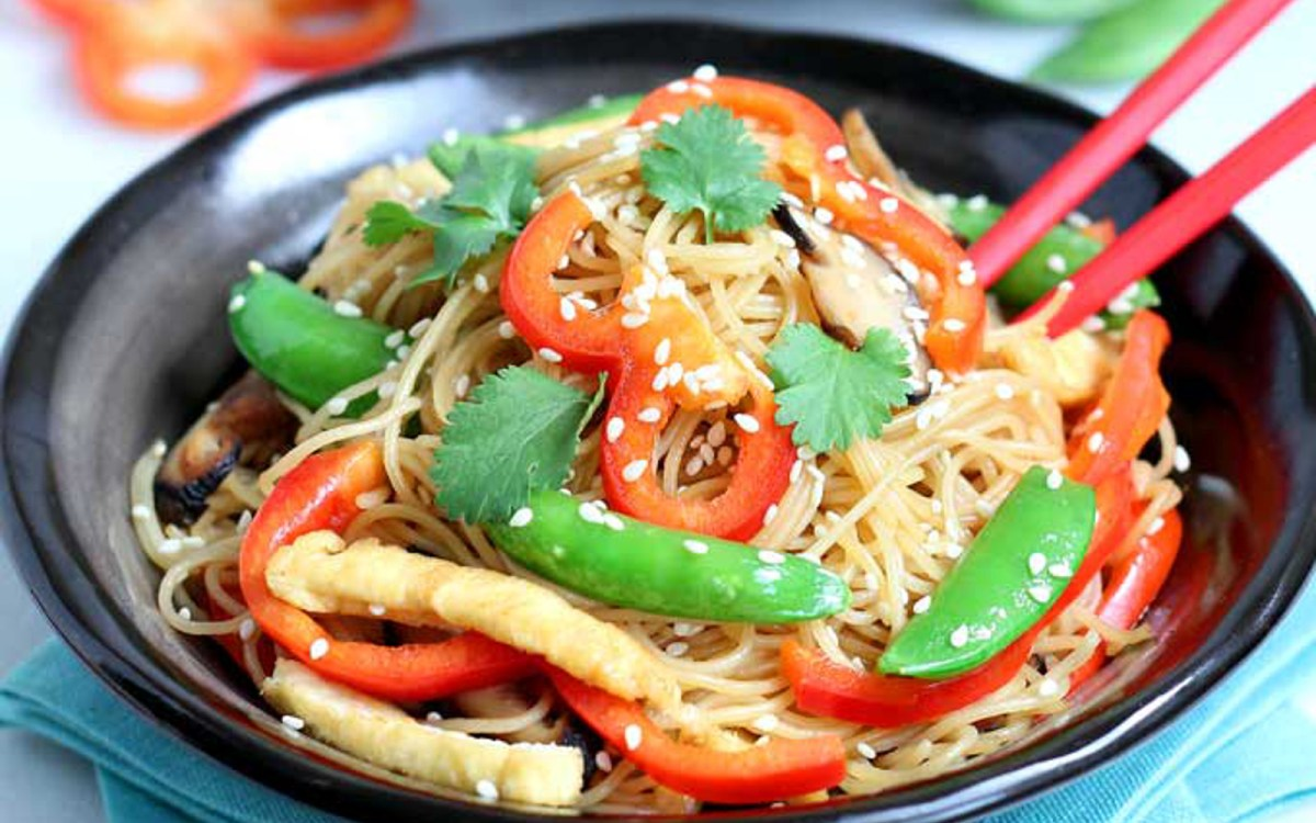 Easy Stir Fried Vermicelli Noodles