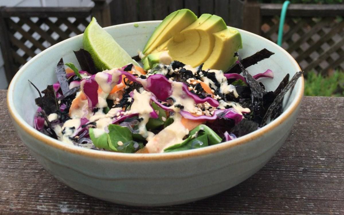 Kelp Noodle Sea Salad