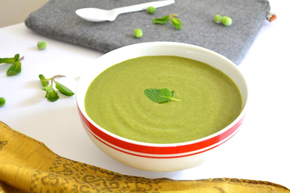 Mint & Peas Soup