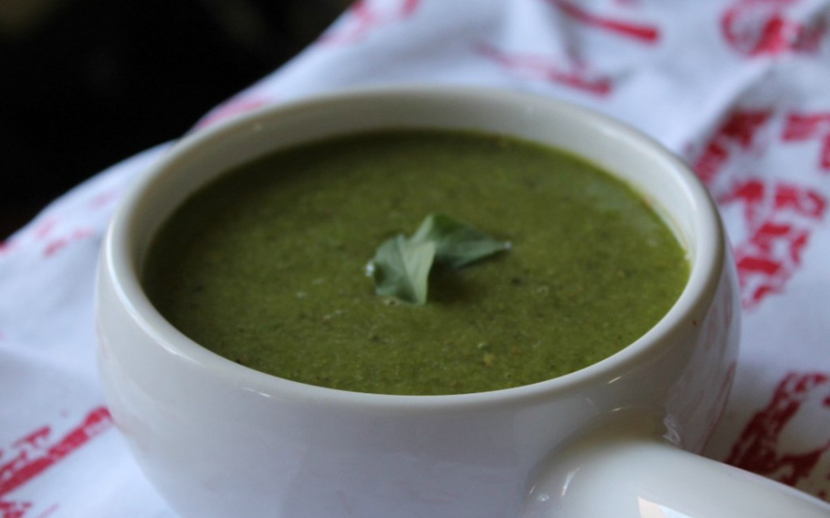 Chilled Roasted Asparagus Soup