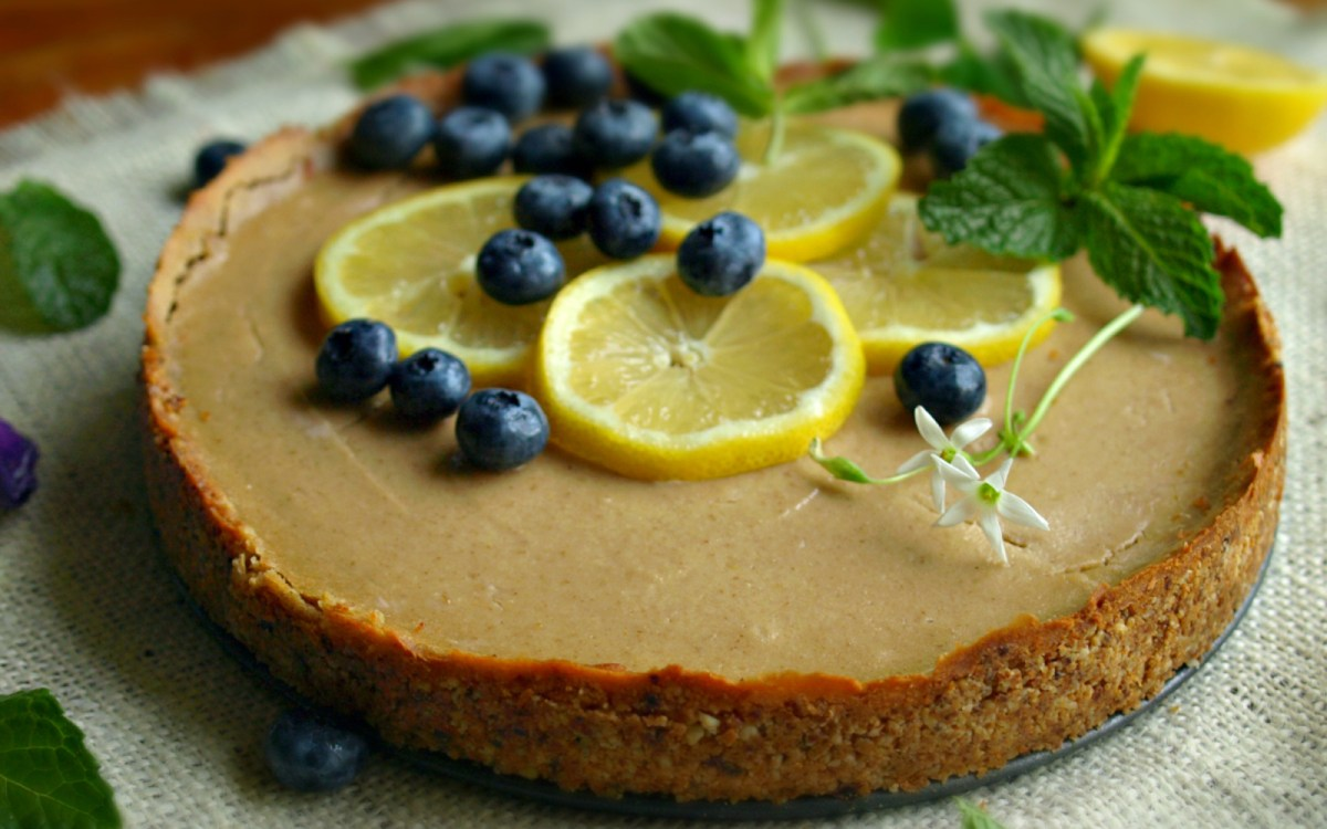 Baked Lemon Cheesecake 1