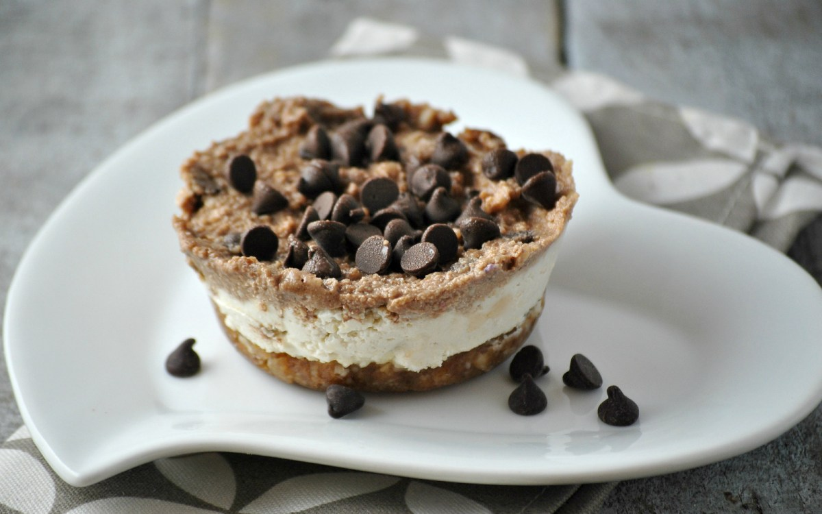 Chocolate Chip Cookie Cheesecake 2
