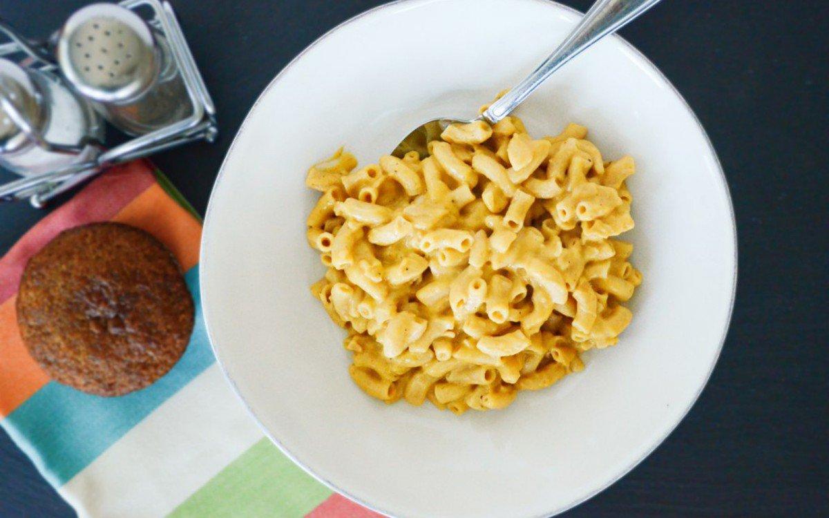 Potato and Zucchini Mac and Cheese