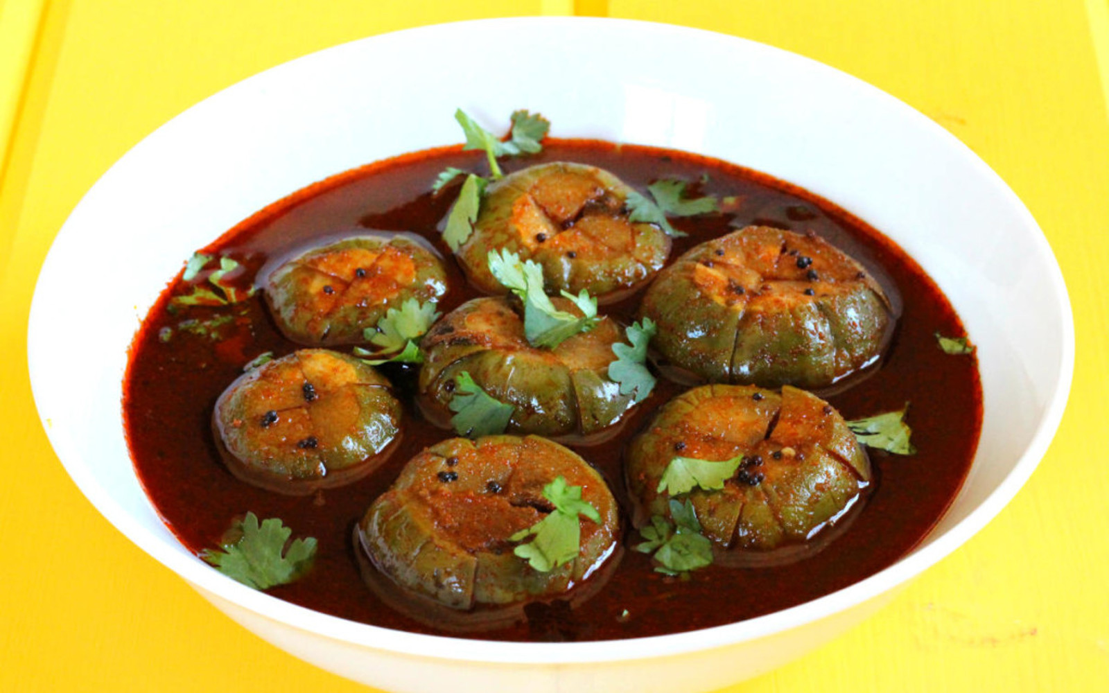 spicy eggplant curry