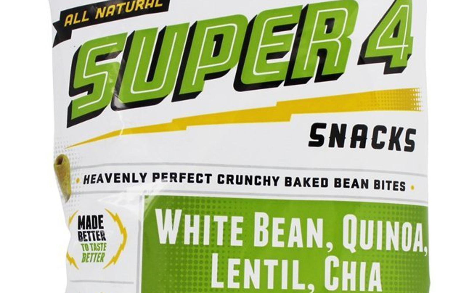Lesser Evil Super 4 snacks
