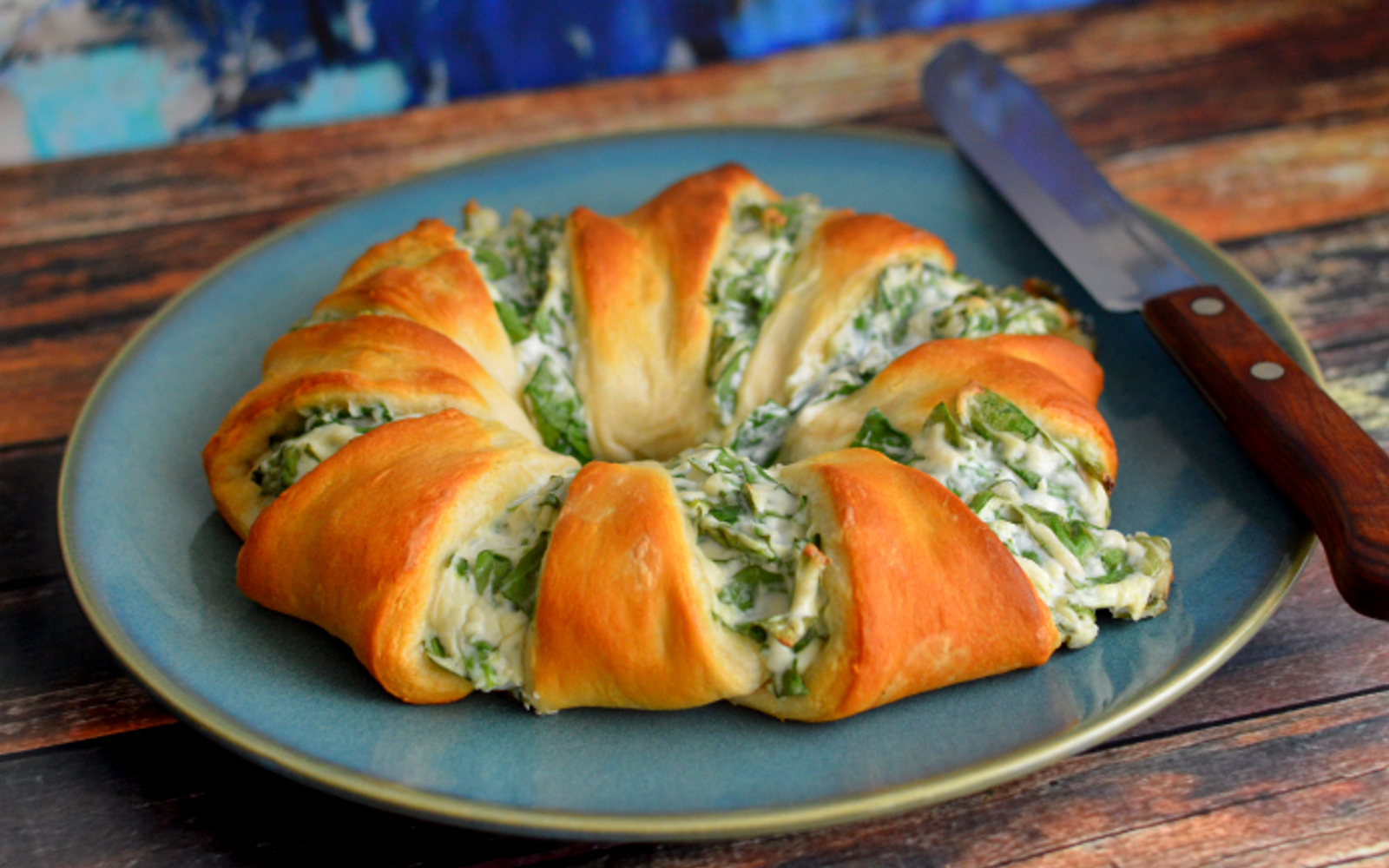spinach dip crescent roll