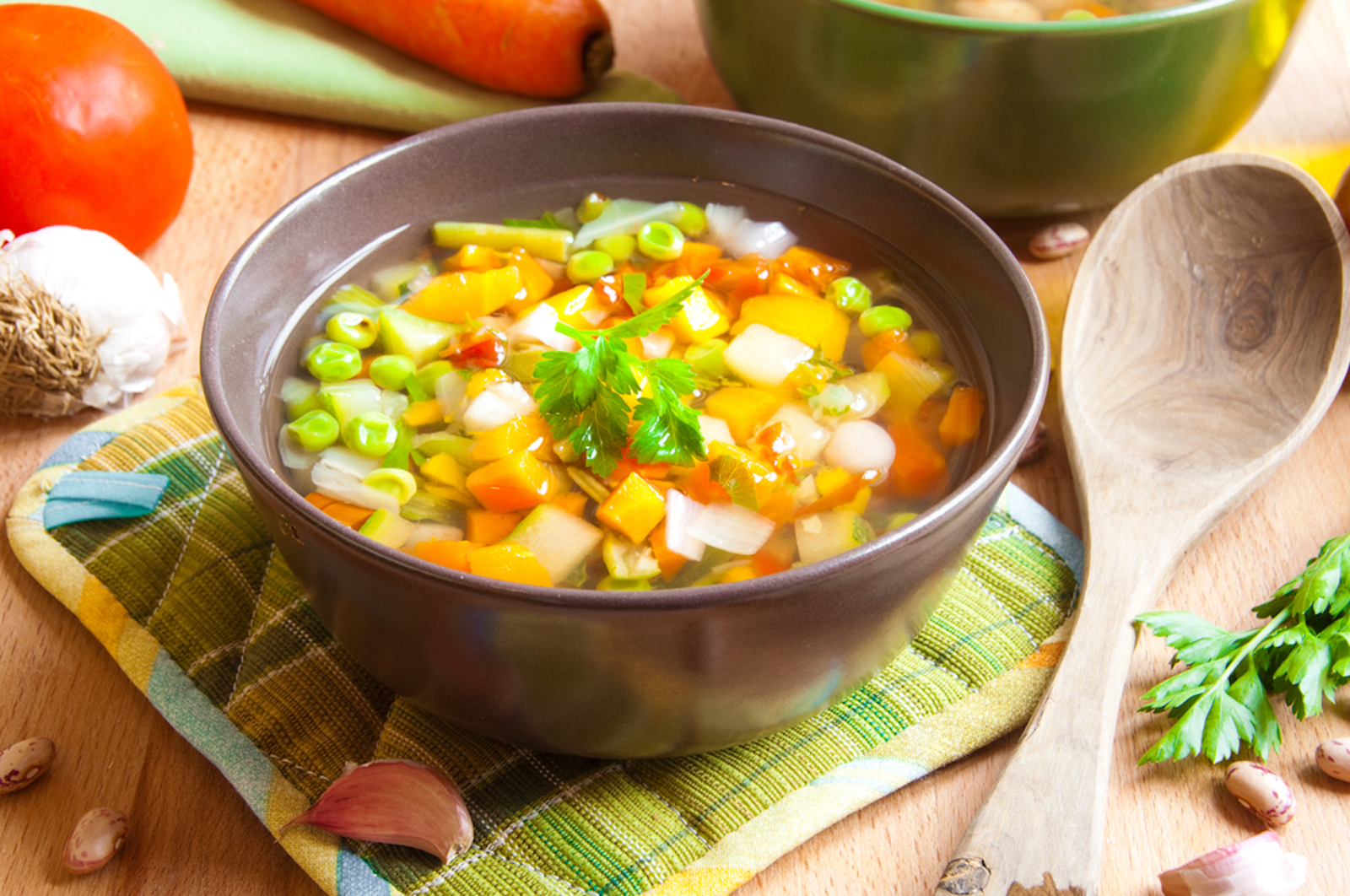 What is added to the soup: interesting recipes 43