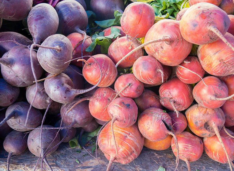 The All Mighty and Humble Root Vegetable Golden Beets One Green