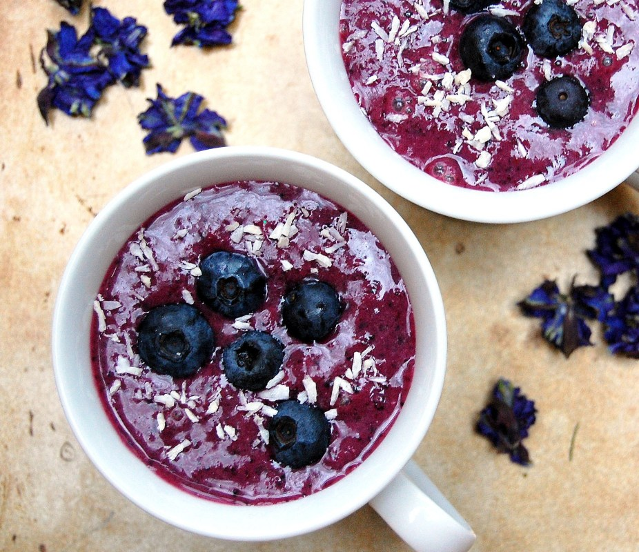Blueberry Açaí Super Smoothie