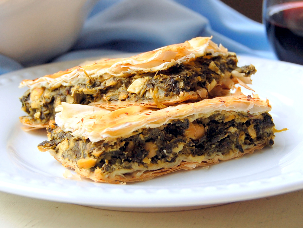 Spanakopita: Greek Spinach Pie