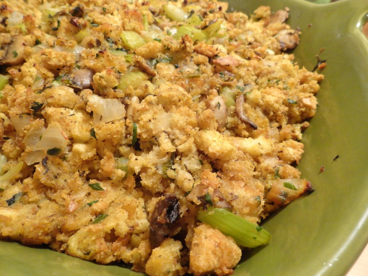 Onion, Celery, and Mushroom Stuffing