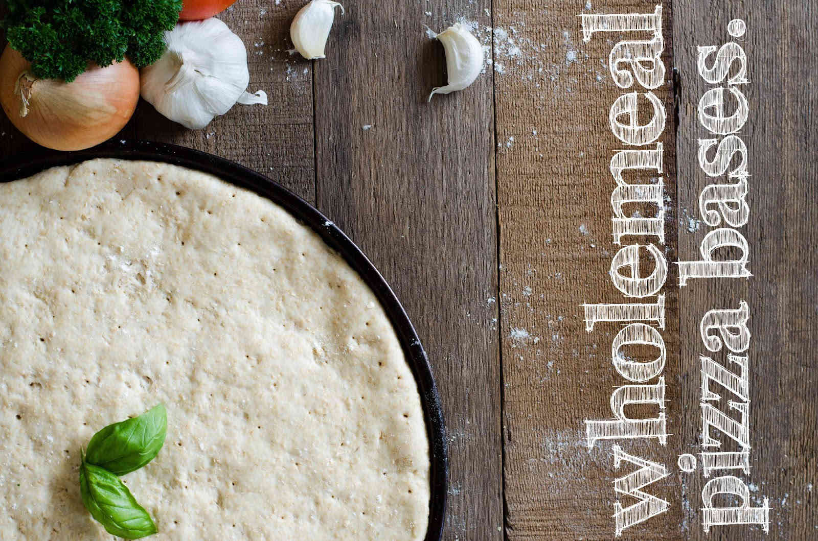 The Best Homemade Vegan Wholemeal Pizza Dough