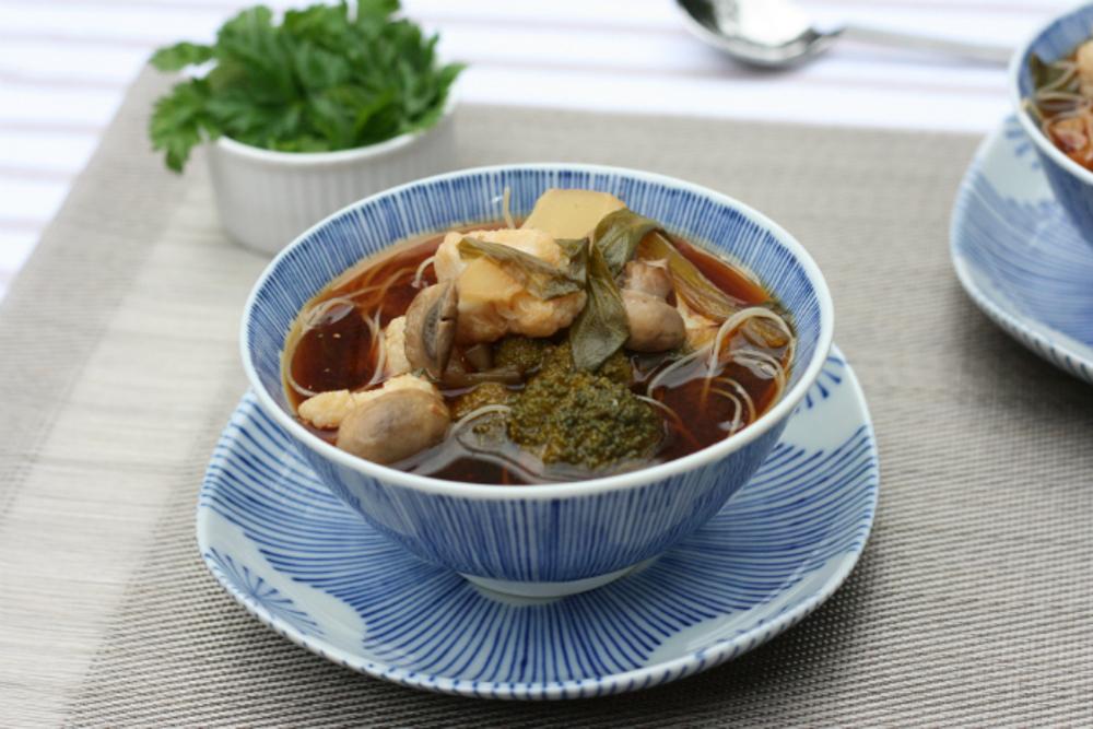 vegan Vegetable Miso Soup