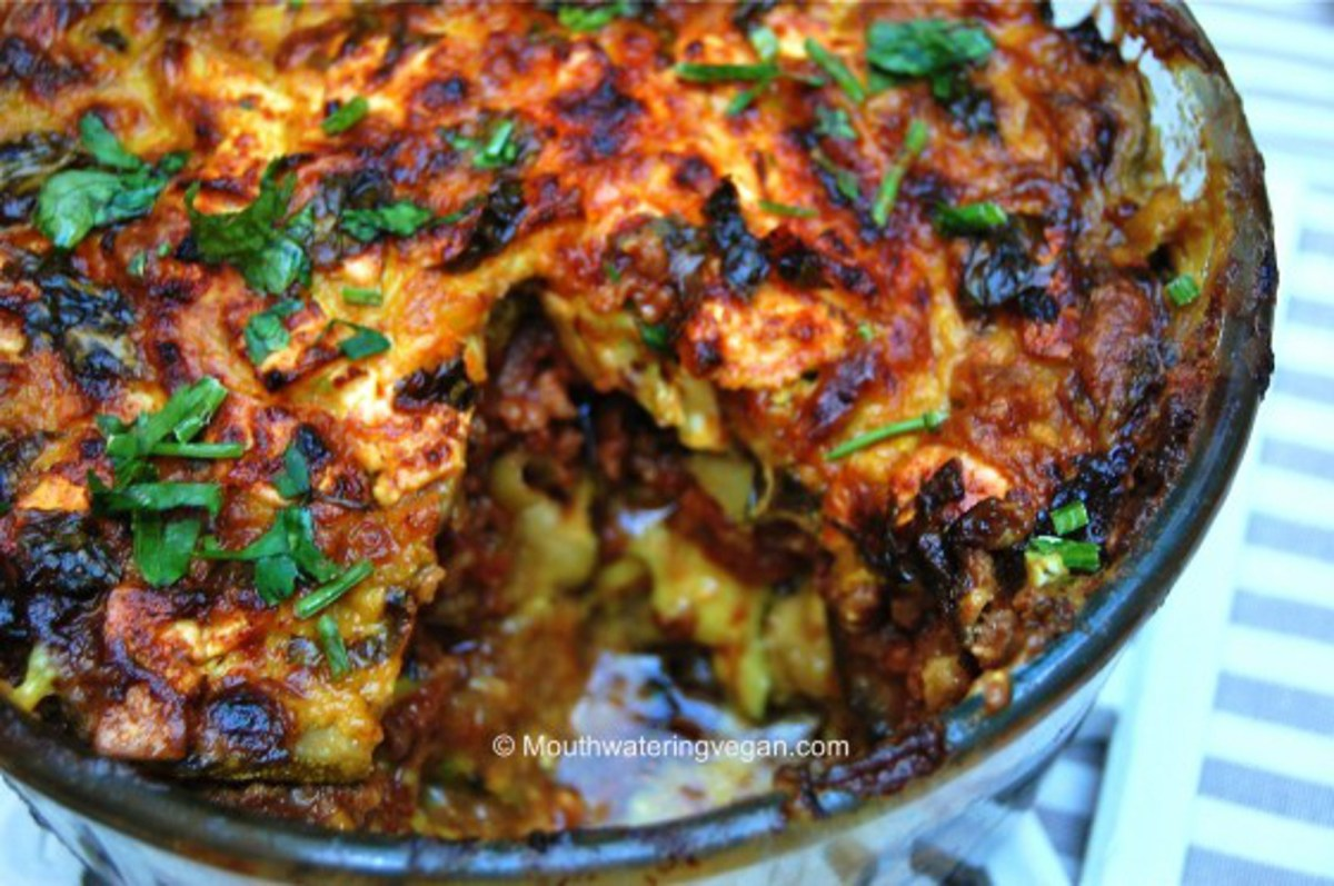 recipe: middle eastern style vegan bake [1]