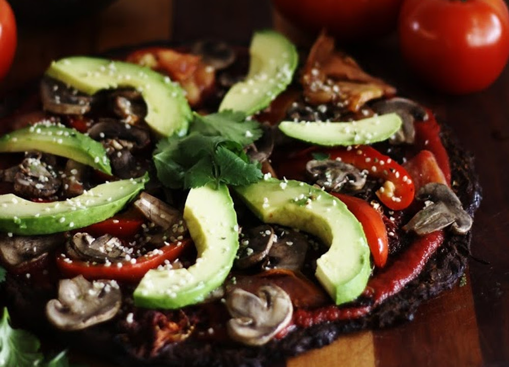 Raw pizza vegan one green planetone green planet food monster recipes forumfinder Gallery