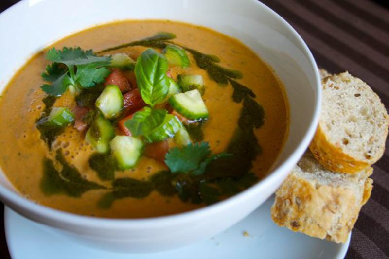 Raw Gazpacho Soup How to Make Fresh, Hea...