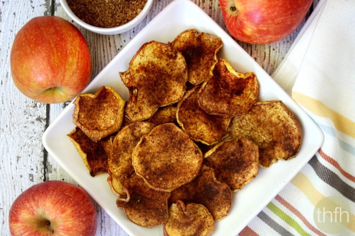 Cinnamon Vanilla Apple Chips Vegan One Green Planet