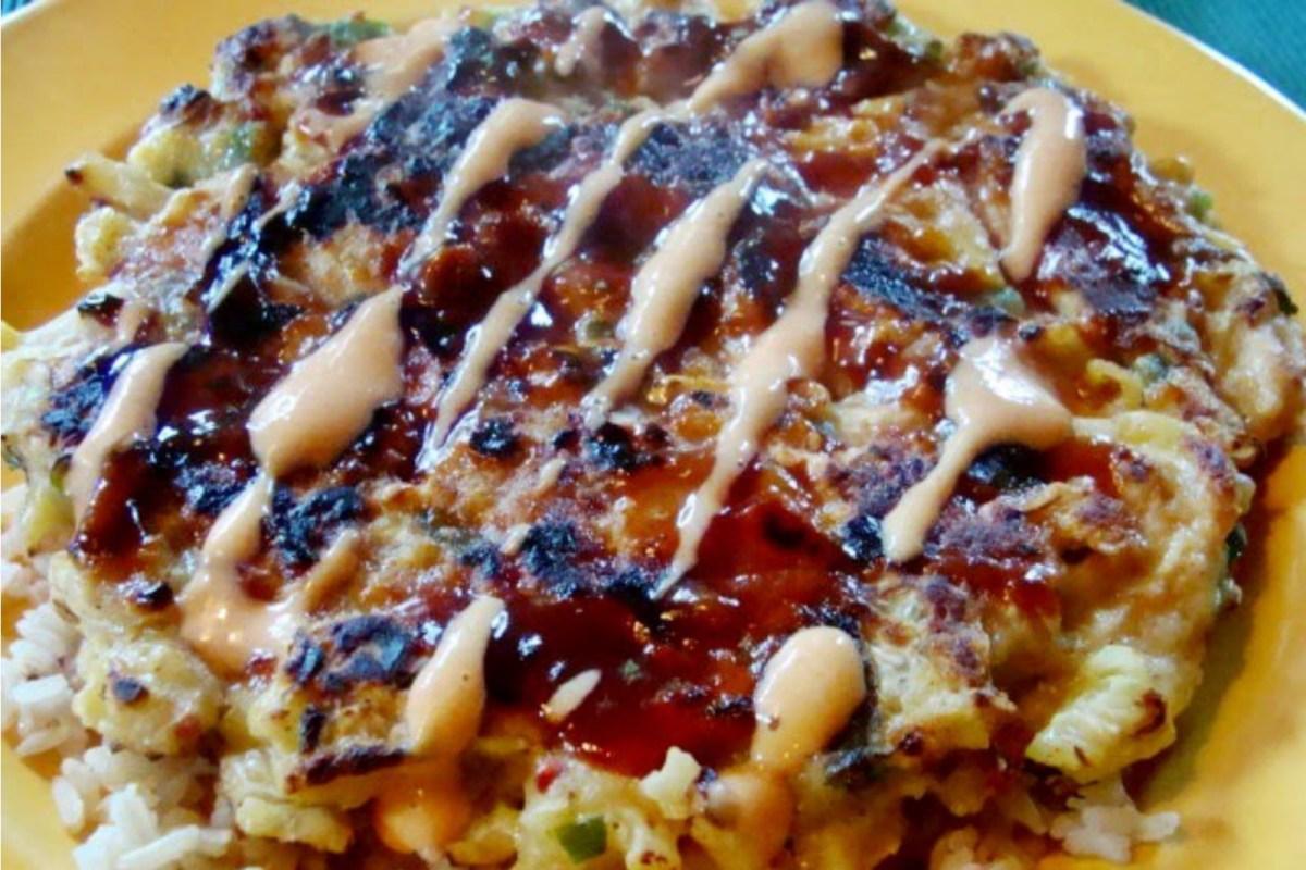Okonomiyaki Sauce Okonomiyaki [Ve...