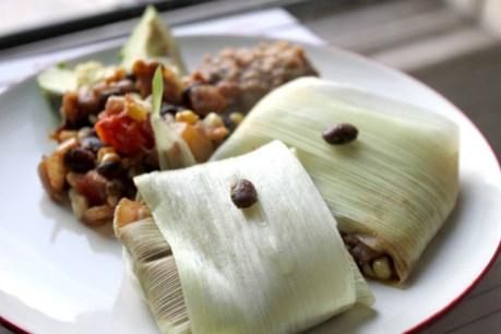 Vegan Tamales [Gluten-Free]