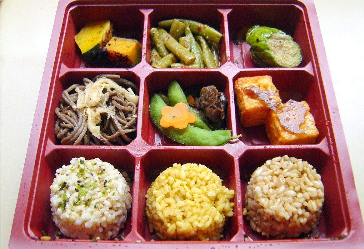 how to build a healthy vegan bento box one green planet. Black Bedroom Furniture Sets. Home Design Ideas