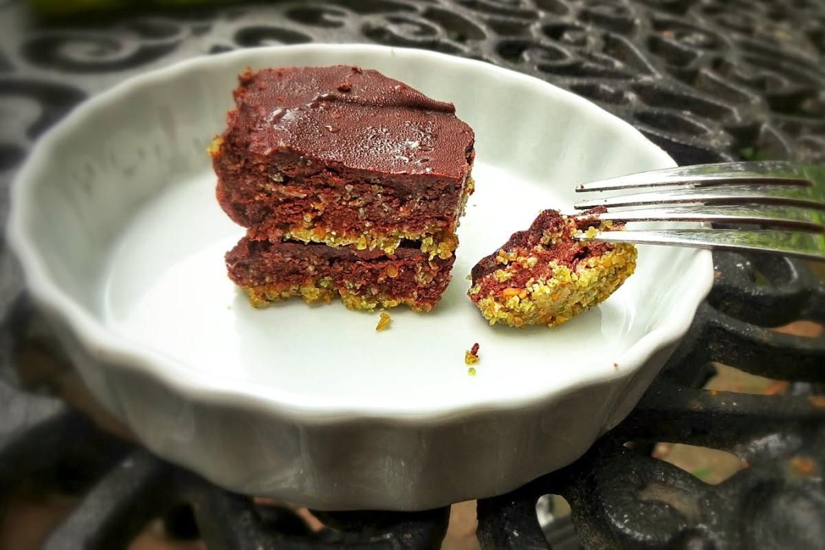 No Bake Opera Cake [Vegan, Gluten-Free]