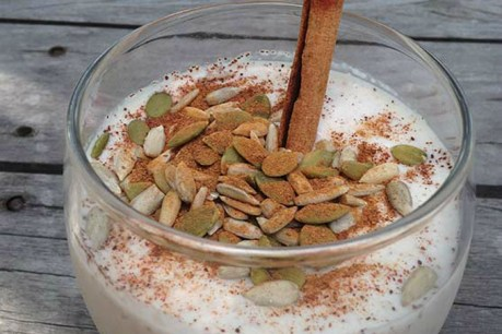 Cinnamon Coconut Yogurt [Vegan, Gluten-Free]