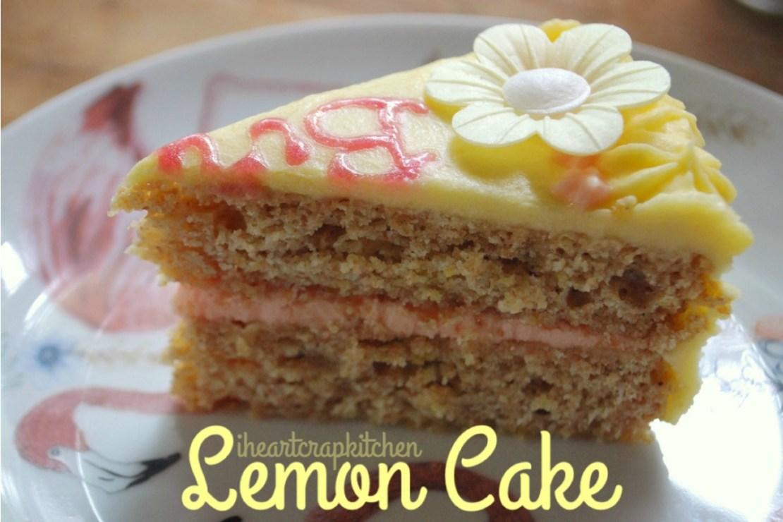 Stealthy Lemon Birthday Cake Vegan One Green Planet