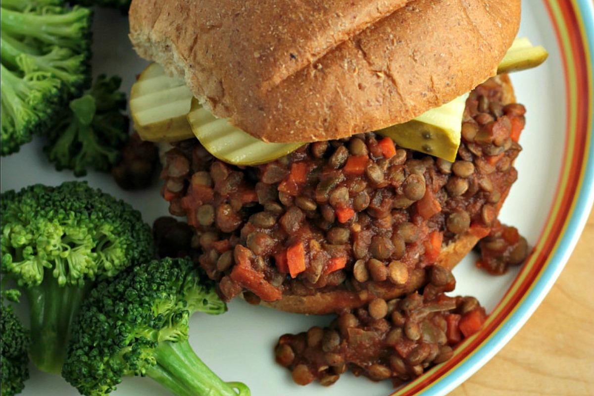 sloppy lentils sloppy vegan joe