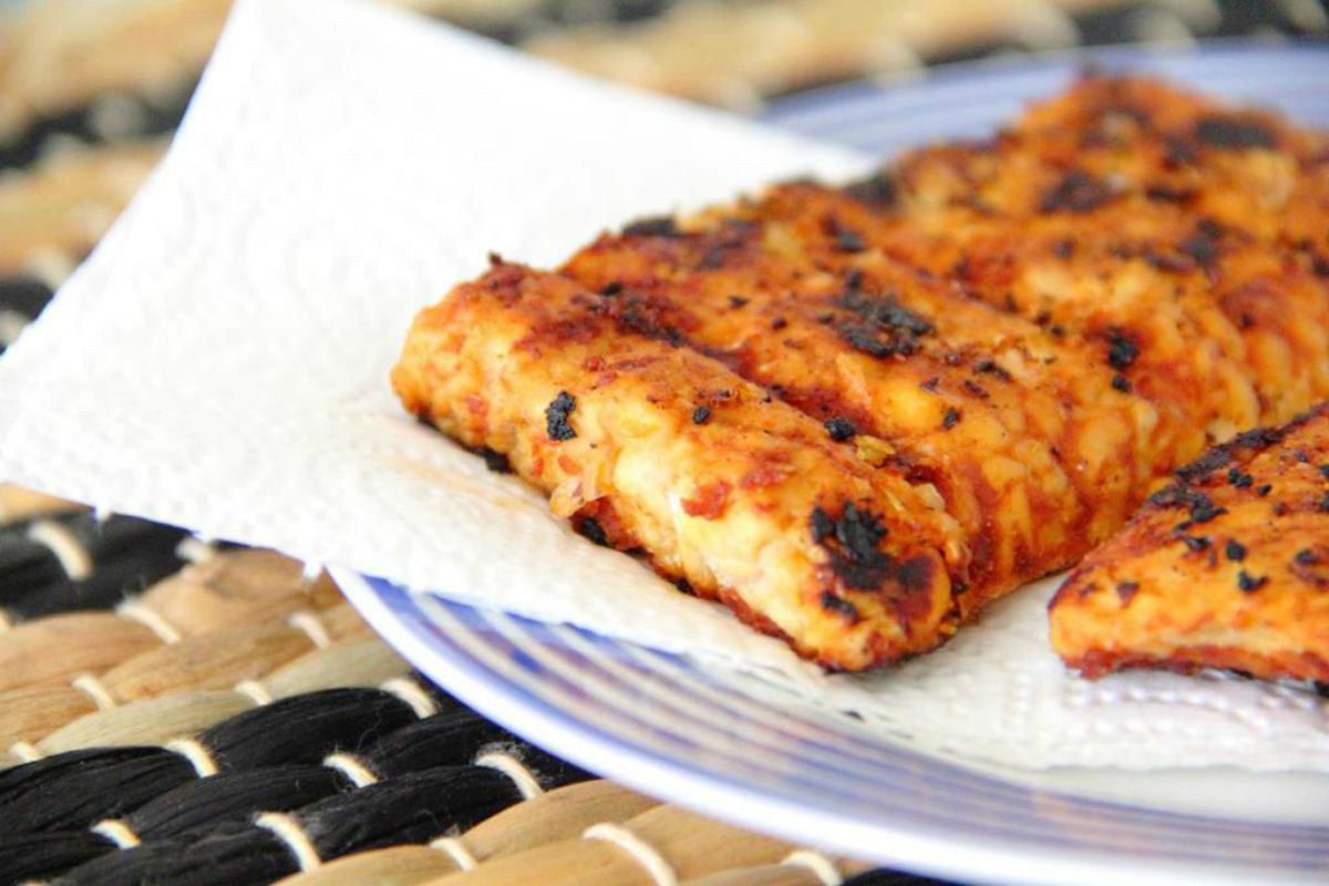 Korean Tempeh Steaks [Vegan]